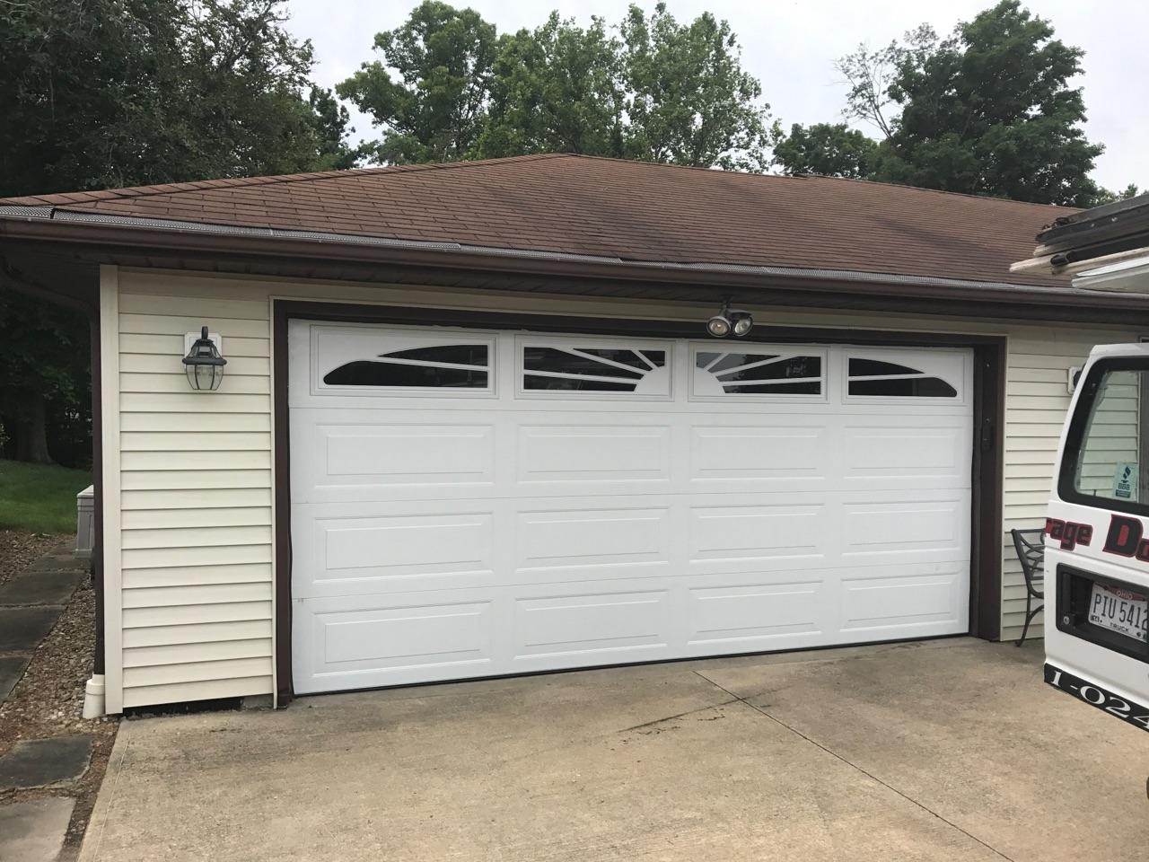 New replacement garage door installation by Kent Garage Doors & New Garage Door Installation | Old Garage Door Replacement New Doors