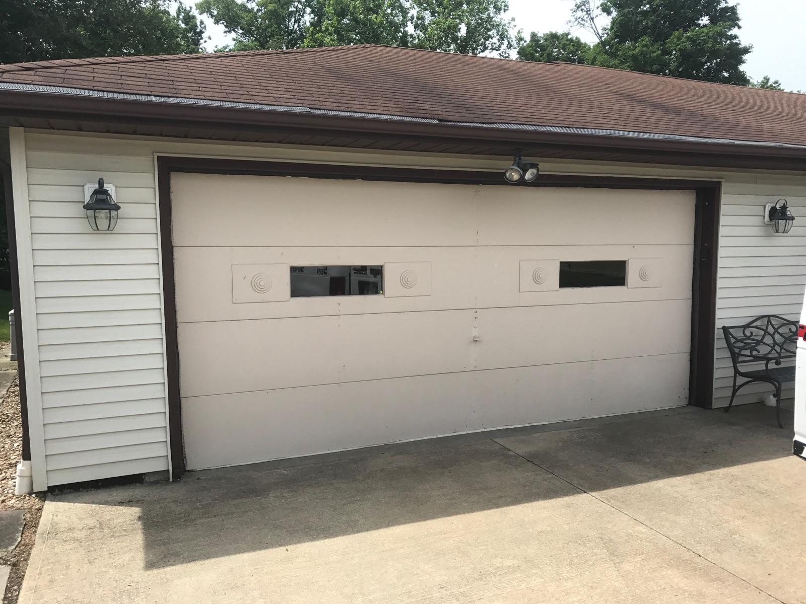 Replacement Garage door installation in Summit and Portage Counties