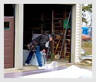 replacement garage door service Akron